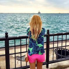 Lilly Pulitzer Elsa Top in Under the Palms via lillypennsquare