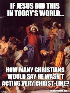 How Un-Christlike
