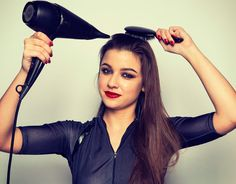 Halloween hair how-to: The Catwoman - Recreate this dual texture hair, perfect for fright night, with this step-by-step guide.