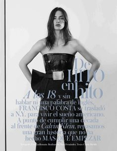 """De Hito en Hito"" : Crista Cober : Vogue Spain August 2013 : Eric Guillemain"