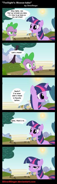 Twilight's Moose-take
