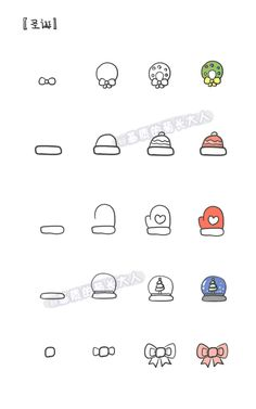 cute christmas's doodles