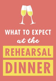 """The rehearsal dinner is highly underrated. Most brides don't give it much thought--there's no theme, you don't anguish over every detail like you do for the wedding, or spend months planning. But the truth is that you probably should give it more thought, or at least know what to expect. The rehearsal dinner is the first time your guests will see you as """"the bride,"""" it will be a chance to reconnect and start celebrating the wedding........"""