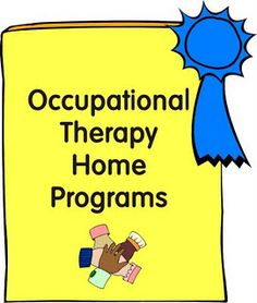 OT Home Programs Make a Difference! - Re-pinned by @PediaStaff – Please Visit http://ht.ly/63sNt for all our pediatric therapy pins