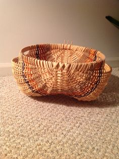 Potato basket, teacher Martha Mulford-Dreswick, Princeton, NJ