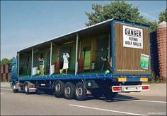 Awesome 3D Truck Advertisements