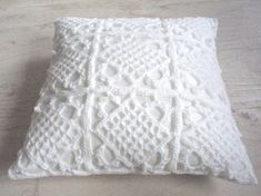 I was thinking of crocheting pillow cases for couch throw pillows.