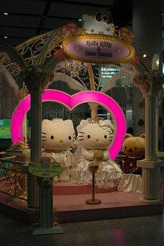 <3hello kitty wedding<3