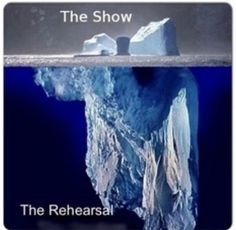 Show vs rehearsals #showchoir