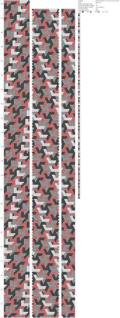Мозаика Эшера 01 (18) стык 0 ,16(6) ToskaTusk (18) http://crochetbeadpaint.info/raports/2200003