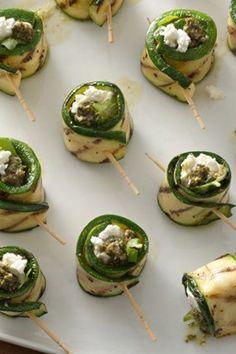 Light vegetarian option for your appetizer spread!
