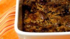 Fűszeres mustáros csirkemáj | Nosalty Hungarian Recipes, Hungarian Food, Pavlova, Meatloaf, Diet Recipes, Banana Bread, Meal Prep, Bacon