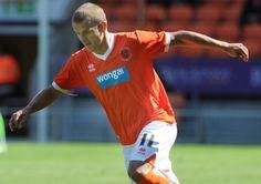 Blackpool midfielder Tomasz Cywka has joined League One Rochdale on loan until January 3