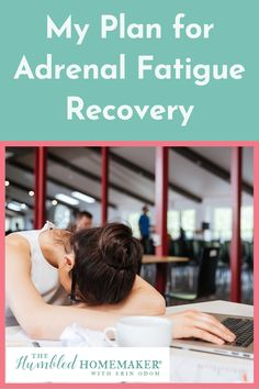 Last week, I shared with you my journey to adrenal fatigue. Today I'm sharing my personal plan for adrenal fatigue recovery. Adrenal Fatigue, Alternative Medicine, Homemaking, Recovery, Health And Wellness, Journey, How To Plan, Home Economics, Health Fitness