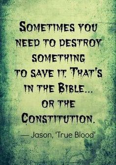 Jason Stackhouse Quote | True Blood