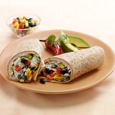Oven Roasted Turkey Burrito with Chipotle, Black Bean and Corn Salsa