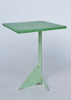 Small Dutch 1930s-50s constructivist side table. Sold by Merzbau.