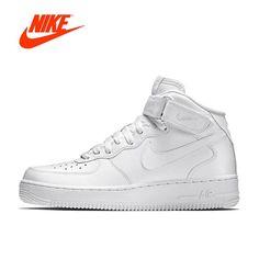 Original Official Nike Air Force 1 AF1 Basketball Shoes feddf649d