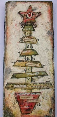 Eclectic Paperie: Wood Art with Authentique & Pan Pastels . . .