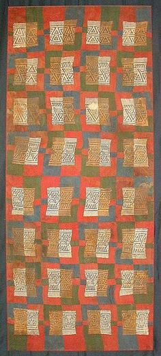 Pre-Columbian Inca Textile Peru circa: 1500. Repinned by Elizabeth VanBuskirk author of \Beyond the Stones of Machu Picchu\ short stories and folk tales that involve the meaning in people's lives of Peruvian Inca weavings today.