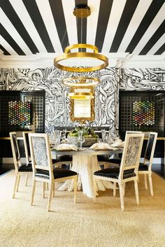 See more images from unexpected ways to style your ceiling on domino.com