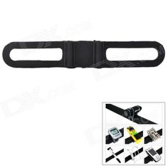 Lichao 8112705 Bike Elastic Silicone Fixing Bandage for Cellphone / Tool / Stop-watch   More - Black Price: $1.80