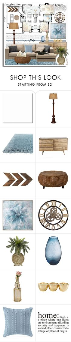 """""""House Plan"""" by leegal57 ❤ liked on Polyvore featuring interior, interiors, interior design, home, home decor, interior decorating, Pacific Coast, Zazu, Uttermost and Cultural Intrigue"""