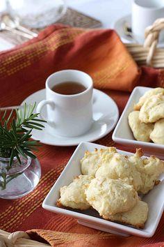 Orange & Coconut Tea Cookies