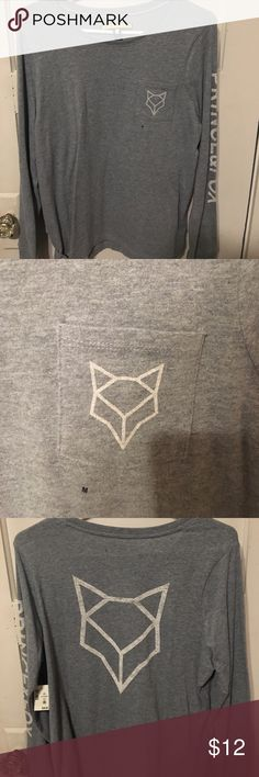 BRAND NEW Grey Prince & Fox long sleeve grey prince &. fox long sleeve. Never worn. Brand New with tags. Pocket has brand logo. Prince & Fox down left sleeve. Will consider offers. Next day shipping unless notified when purchased Urban Outfitters Tops Tees - Long Sleeve