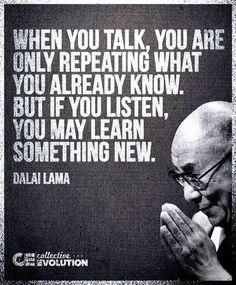 Listen & Learn - Dalai Lama