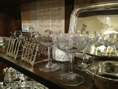 Stunning Vintage Baccarat Coupes | tedkennedywatson.com