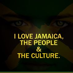 I love #Jamaica, the people and the culture.  .