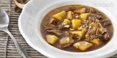 Hríbová mrvenička - Recept Pot Roast, Ethnic Recipes, Food, Carne Asada, Roast Beef, Essen, Meals, Yemek, Eten