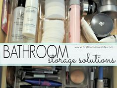Bathroom Organization and Storage Solutions