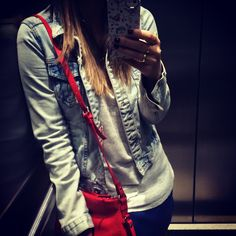 Outfit. Lelê Gianetti. Blog It Yourself. Fashion. Red Bag.