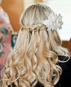 Braid hairstyle for a beach wedding | Bridal Hairstyles