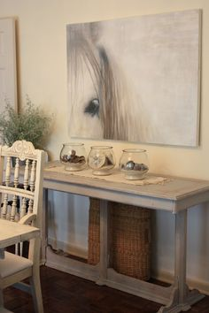 I need this painting! erin's art and gardens: welcome to my newish dining room......