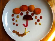 Obstteller, macedonia, fruits, Kinder, enfants, Bambin, funny foodi