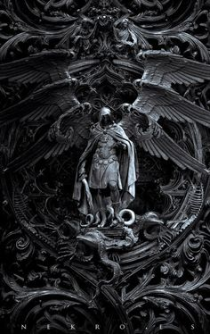 ArtStation - Three circles of hell ( 3 covers ), by Nekro .