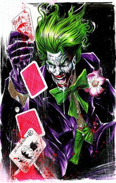 Joker by Mike Lilly