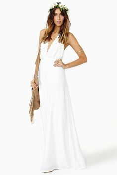 """""""Camilla Maxi Dress"""" from Nasty Gal. This is so cool"""