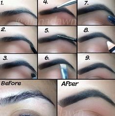 How to fix and shape up your Eyebrows!