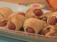 Pigs in a Blanket with the Works