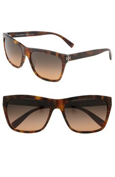 Tory Burch Retro Inspired Square Sunglasses | Nordstrom...great for summer