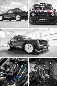 Ken Block's new Ford Escort. @ http://www.carhoots.com/celebrity-cars/ken-blocks-new-ford-escort-mk2-gymkhana-car/
