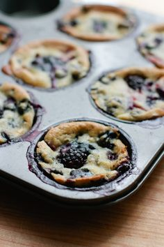 Honey, Ricotta and Berry Muffins - only a few modifications needed