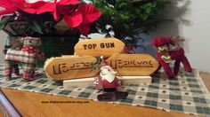 Custom BLM mustang branded brushes for Christmas by TheHorseMutterer