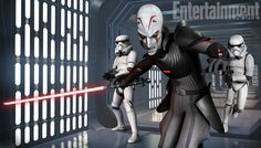 Pic from new Star Wars Rebels animated series