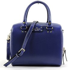 Kate Spade Wellesley Alessa Leather Satchel in Holiday Blue kate spade new york http://www.amazon.com/dp/B00KME51IA/ref=cm_sw_r_pi_dp_utKuub1VSV83F