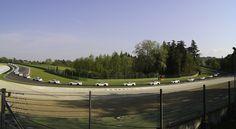 Porsche GT3 at Imola. Acque Minerali.